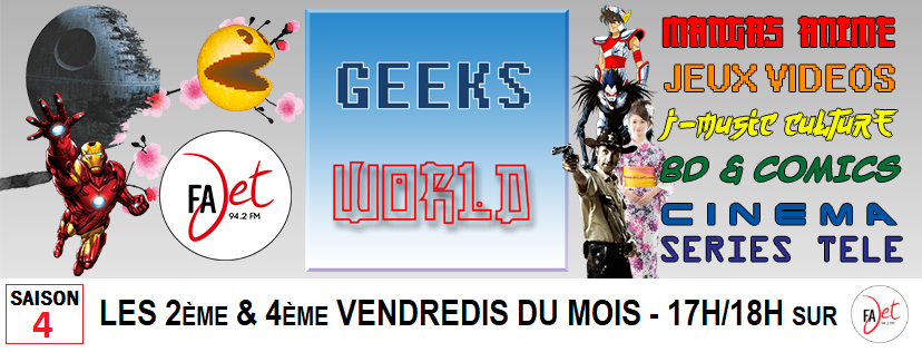 Couverture geeks world saison 4